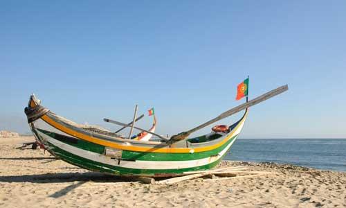 Bateau de pêche - Conserverie de Lisbonne