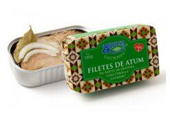 Filets de thon aux oignon laurier - Briosa - Conserverie Portugal Norte - Conserves de sardines du Portugal