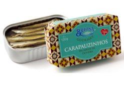 Conserves de petits chinchards - Briosa - Conserverie Portugal Norte - Conserves de sardines du Portugal