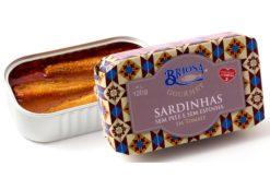 Conserves de sardines sans peau et sans arête à la tomate - Briosa - Conserverie Portugal Norte - Conserves de sardines du Portugal