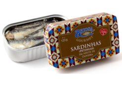 Conserves de sardinettes - Briosa - Conserverie Portugal Norte - Conserves de sardines du Portugal