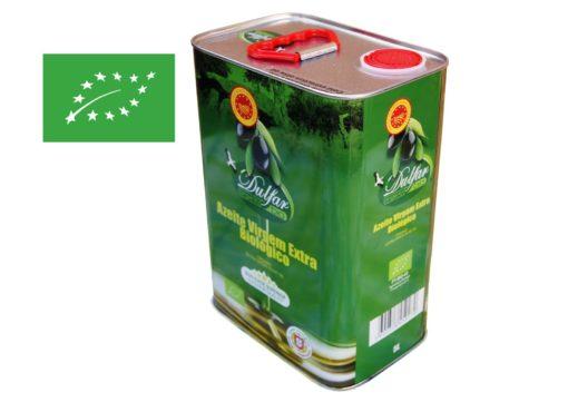 Dulfar bidon 5 litres- Huile d'olive Bio du Portugal