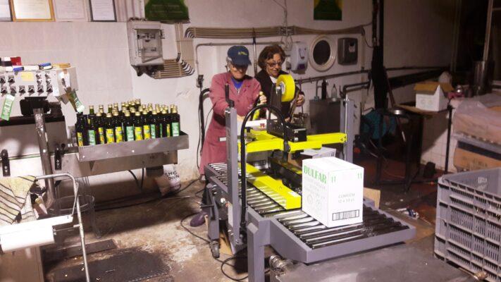 Étiquetage manuel - Dulfar - Huile d'olive Bio du Portugal - Le Comptoir du Portugal