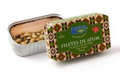 Filets de thon aux cornilles - Briosa - Conserverie Portugal Norte - Conserves de sardines du Portugal