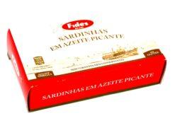 Sardinettes à l'huile d'olive épicée - Fides - Conserves de sardines du Portugal