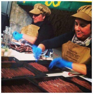 Ouvrières - Angelachu - Conserves de filets d'anchois de Santoña - Cantabrie