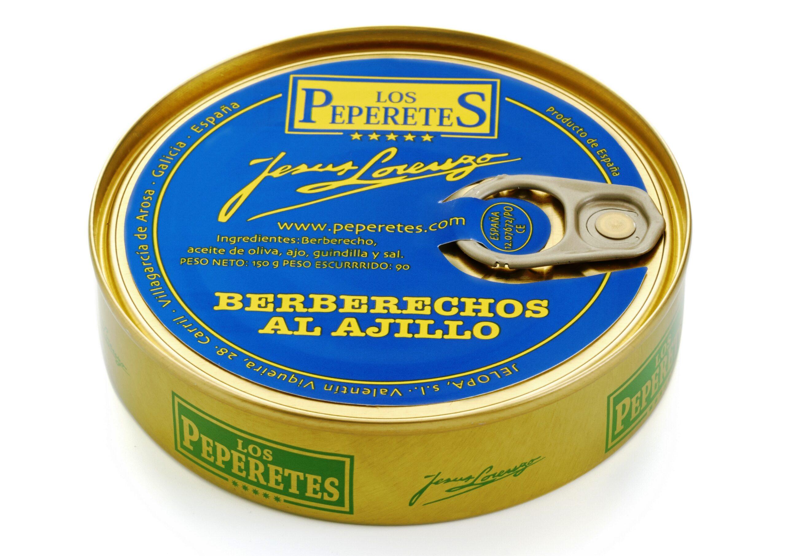 Coques à l'ail - Los Peperetes - Conserves de Galice