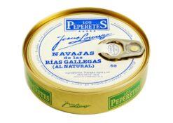 Couteaux au naturel - Los Peperetes - Conserves de Galice