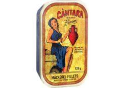 Filets de maquereaux à l'huile d'olive - Cantara - Conserves de maquereaux du Portugal