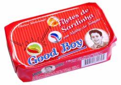 Filets de sardines à la tomate - Good Boy - Conserves de maquereaux du Portugal