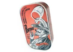 Sardines à la sauce teriyaki - Porthos - Conserverie Portugal Norte - Conserves de sardines du Portugal
