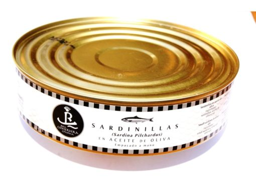 Petites sardines à l'huile d'olive 525g - Real Conservera Espanola