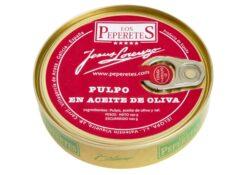 Poulpe à l'huile d'olive - Los Peperetes - Conserves de Galice