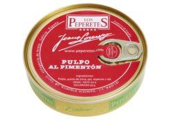 Poulpe à l'huile d'olive épicée - Los Peperetes - Conserves de Galice