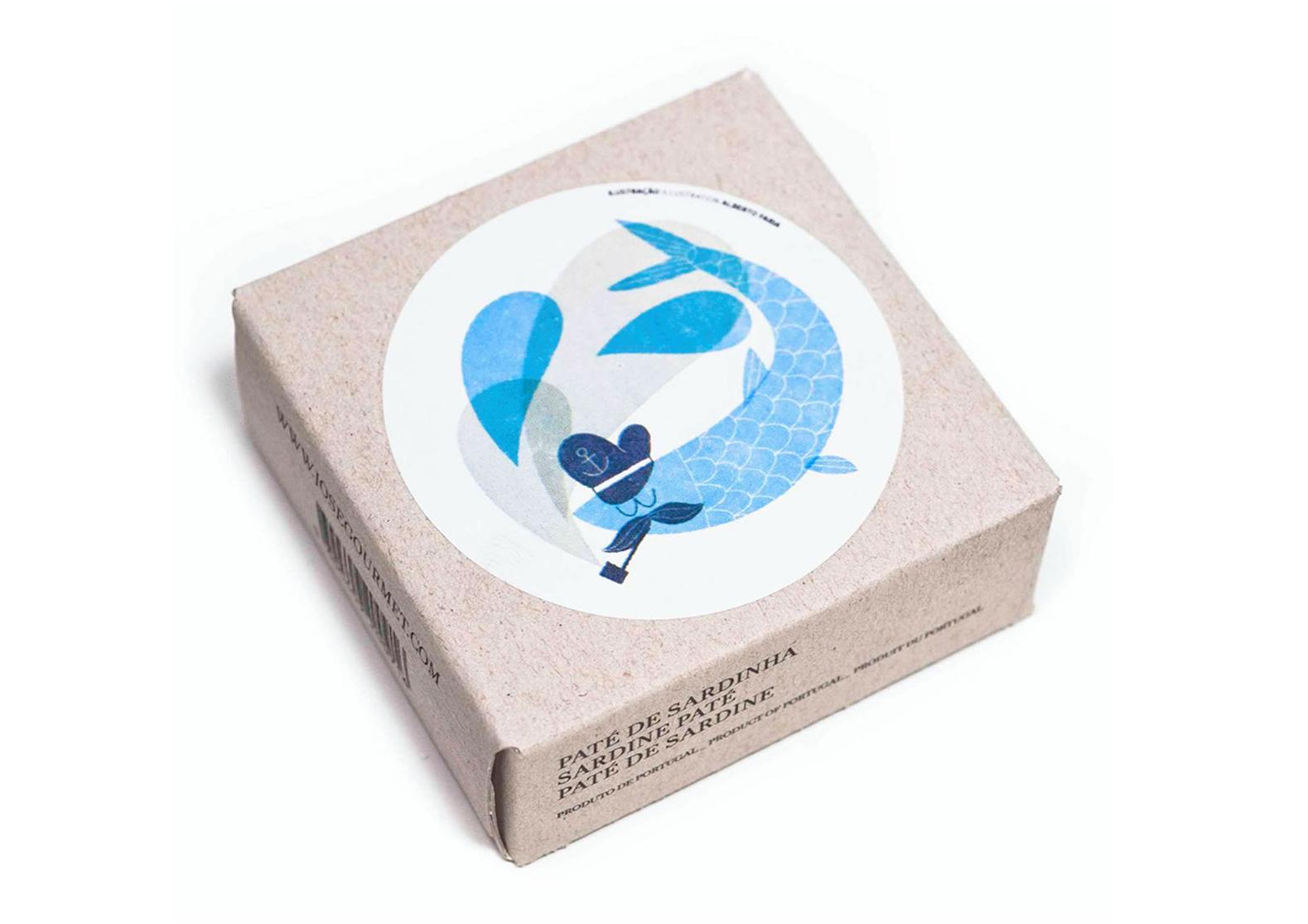 Rillettes de sardines - José Gourmet - Conserves de sardines du Portugal