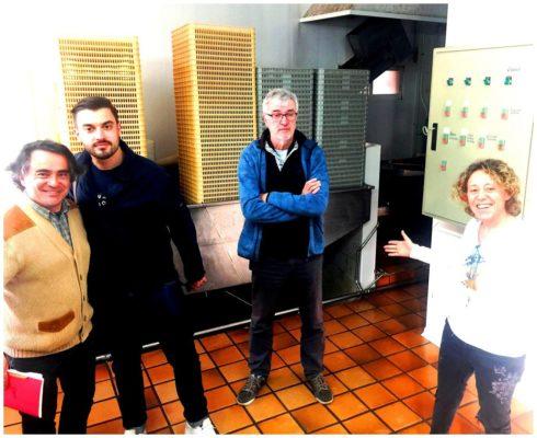 Belen de la conserverie Los Pepretes en Galice