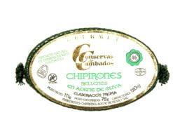 Calamars farcis à l'huile d'olive 4-6 - Conserves de Cambados - Galice Espagne