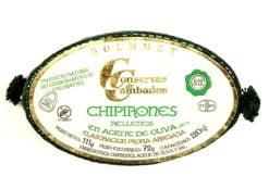 Calamars farcis à l'huile d'olive 8-12 - Conserves de Cambados - Galice Espagne