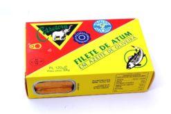 Filets de thon bonito à l'huile d'olive - Corretora - Conserves de thon des Açores