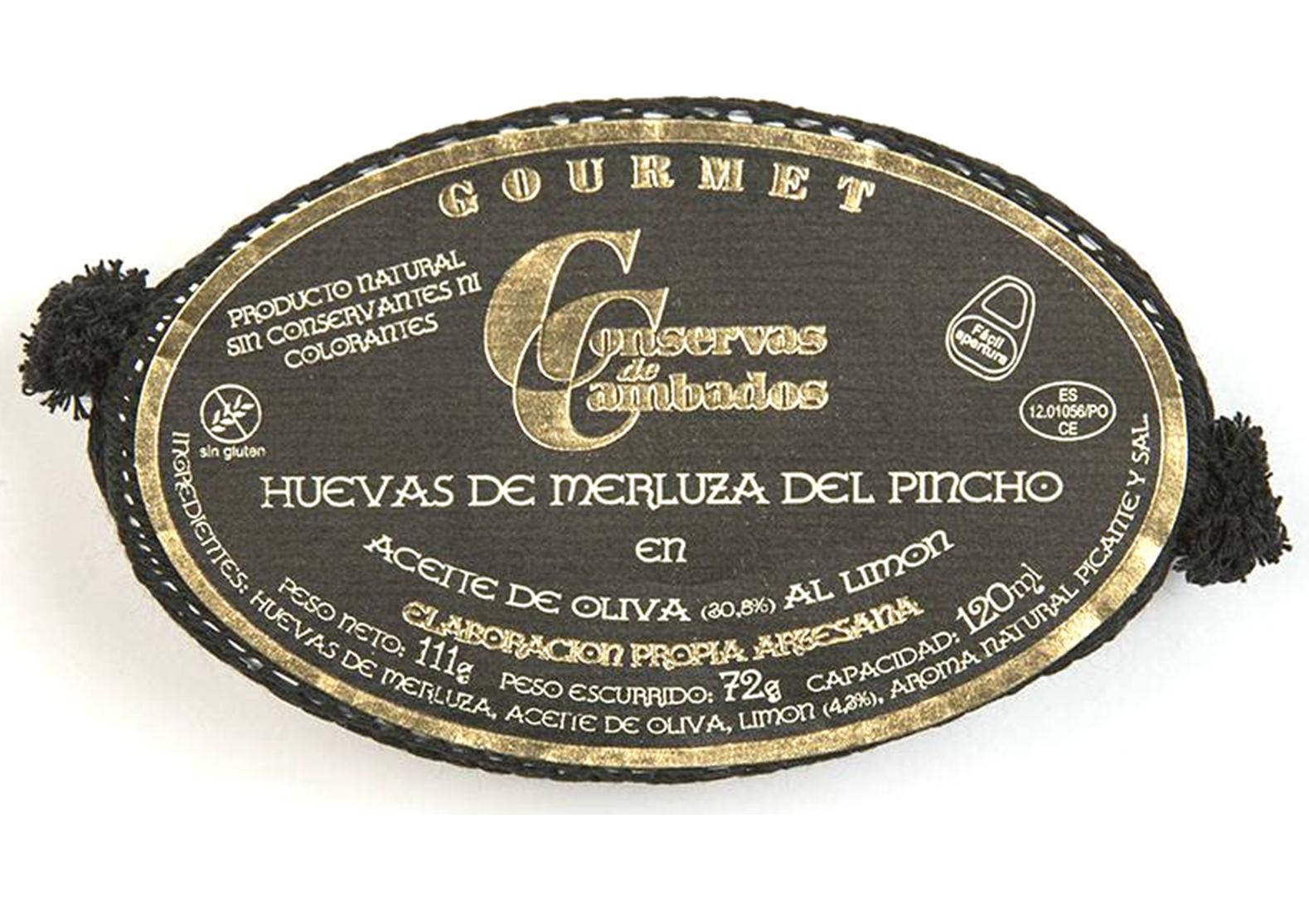 Oeufs de merlu au citron - Conserves de Cambados - Galice Espagne
