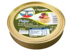 Poulpe à l'huile d'olive 280g - crustacés et fruits de mer - produits de Galice Espagne