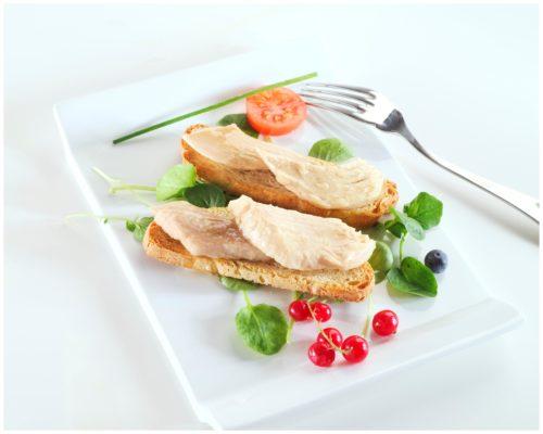 Présentation des filets de thon bonito - Arroyabe - Conserves de poissons Espagne