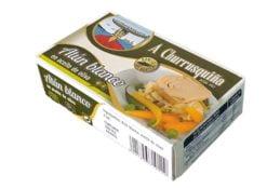 Ventrèche de thon à l'huile d'olive - Conservas Roma Churrusquina - produits de Galice Espagne