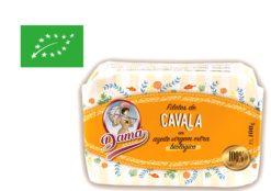 Filets de maquereau à l'huile d'olive extra vierge biologique - Dama - Conserveri Portugal Norte
