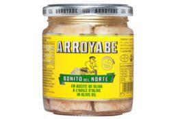 Filets de thon Bonito à l'huile d'olive - Arroyabe - Conserves de poissons Espagne