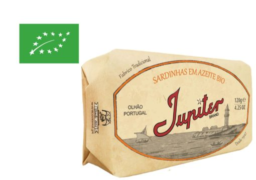 Sardines à l'huile d'olive bio - Jupiter - Conserveria do Sul - Portugal