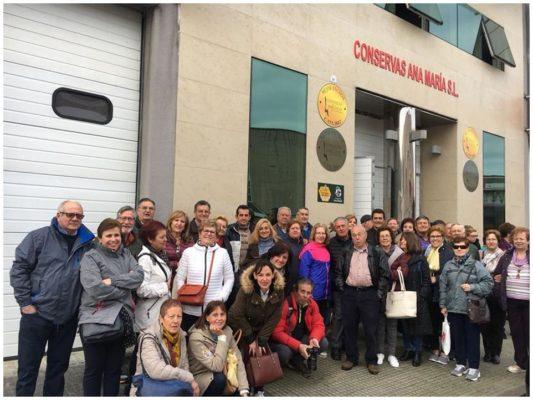Personnel de la conserverie - Conserves Ana Maria - Conserves de la mer de Cantabrie Espagne