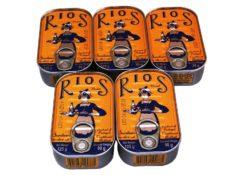 Lot de Sardines Millésimées à l'huile d'olive lot - Pinhais - Rios - Conserves de sardines du Portugal