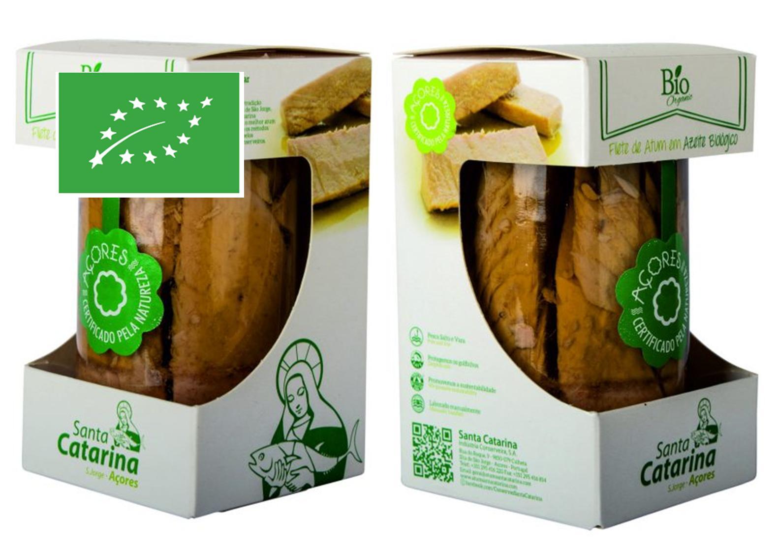 2 Filets de thon BIO 250g - Santa Catarina - Conserves de thon bonito des Açores