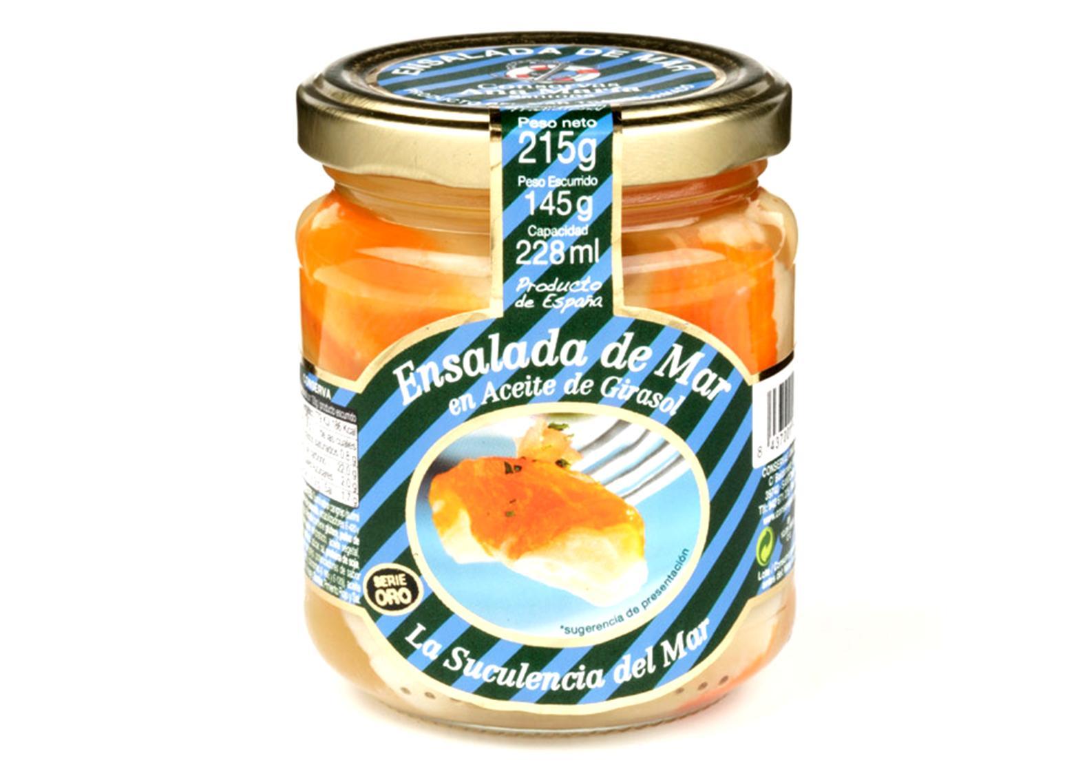 Salade de la mer - Conserves Ana Maria - Conserves de la mer de Cantabrie Espagne