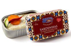 Conserves de sardines condiments - Briosa - Conserverie Portugal Norte - Conserves de sardines du Portugal