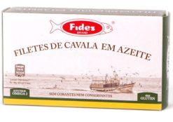 Filets de maquereaux à la portugaise - Fides - Conserves de maquereaux du Portugal