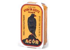 Filets de thon à l'huile d'olive épicée - Açor - Conserves de thon du Portugal
