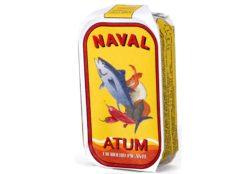 Filets de thon aux condiments épicés - Naval - Conserves de thon du Portugal