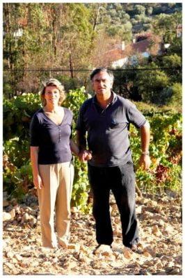 Couple des propriétaires du Monte de Penha - Vins de l'Alentejo Portugal