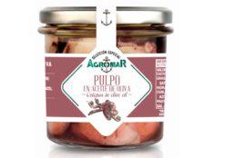 Poulpe à l'huile d'olive - Agromar - Conserves de poissons et crustacés - Asturies Espagne