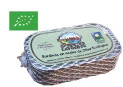 Sardines à l'huile d'olive biologique - Paco Lafuente - Conserves de poissons de Galice