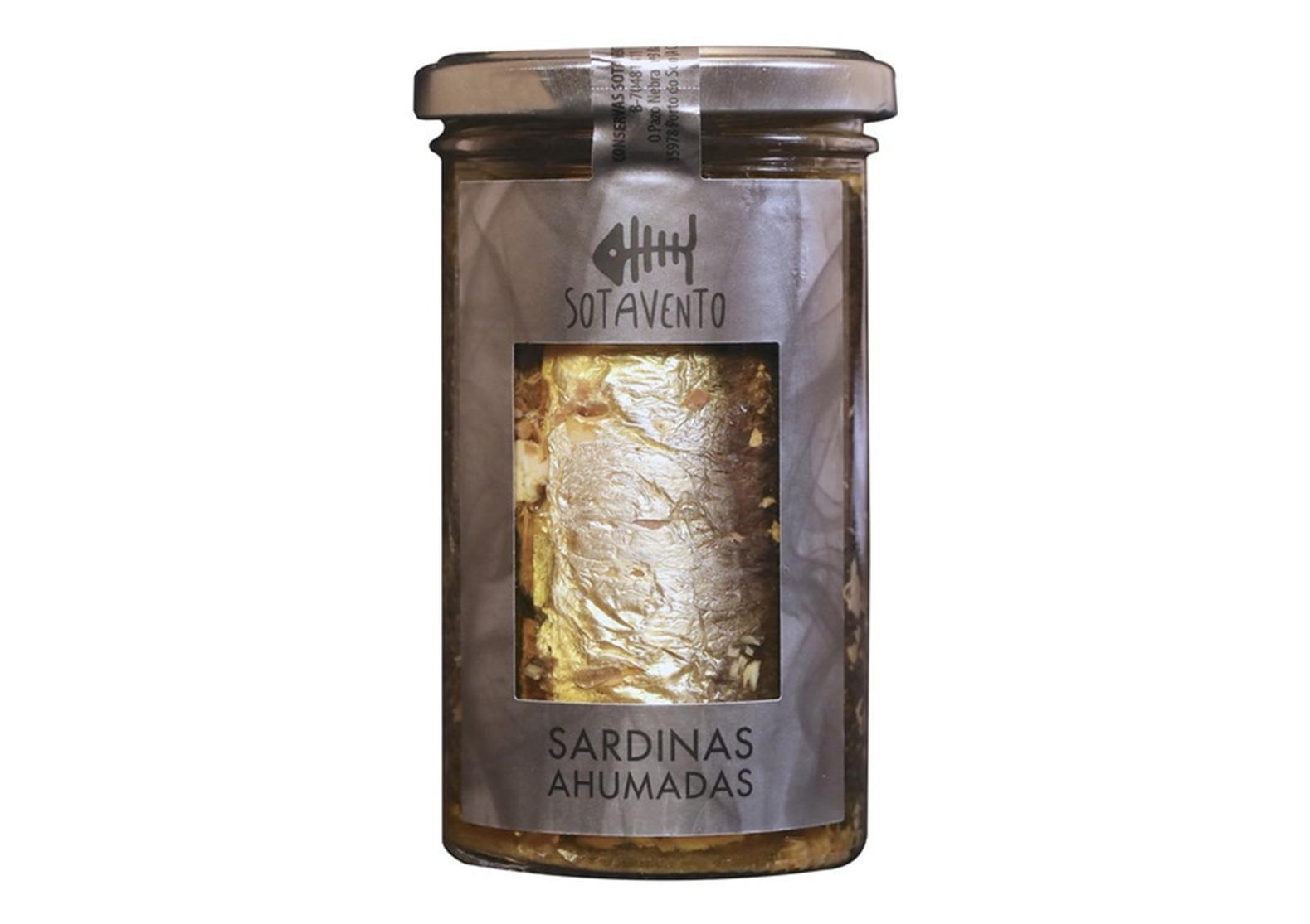 Sardines fumées à l'huile d'olive extra vierge - Sotavento - Conserves de Galice