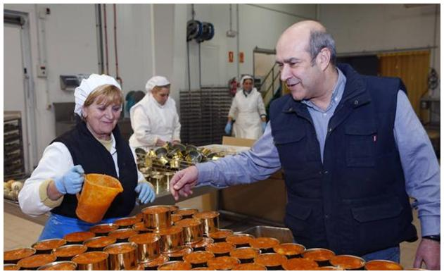 Travail à la conserverie - Agromar - Conserves de poissons et crustacés - Asturies Espagne