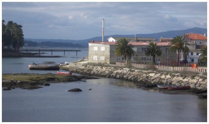 Vue de la conserverie - Paco Lafuente - Conserves de poissons de Galice