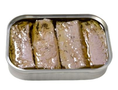 Filets de thon à l'huile d'olive extra vierge biologique et à l'aneth ouverte - Dama - Conserveri Portugal Norte