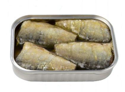 Sardines à l'huile d'olive extra vierge biologique ouverte - Dama - Conserverie Portugal Norte