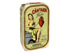 Sardines au citron et à l'huile d'olive - Cantara - Conserves de poissons du Portugal