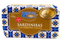 Sardines aux poivrons braisés - Briosa - Conserverie Portugal Norte - Conserves de sardines du Portugal