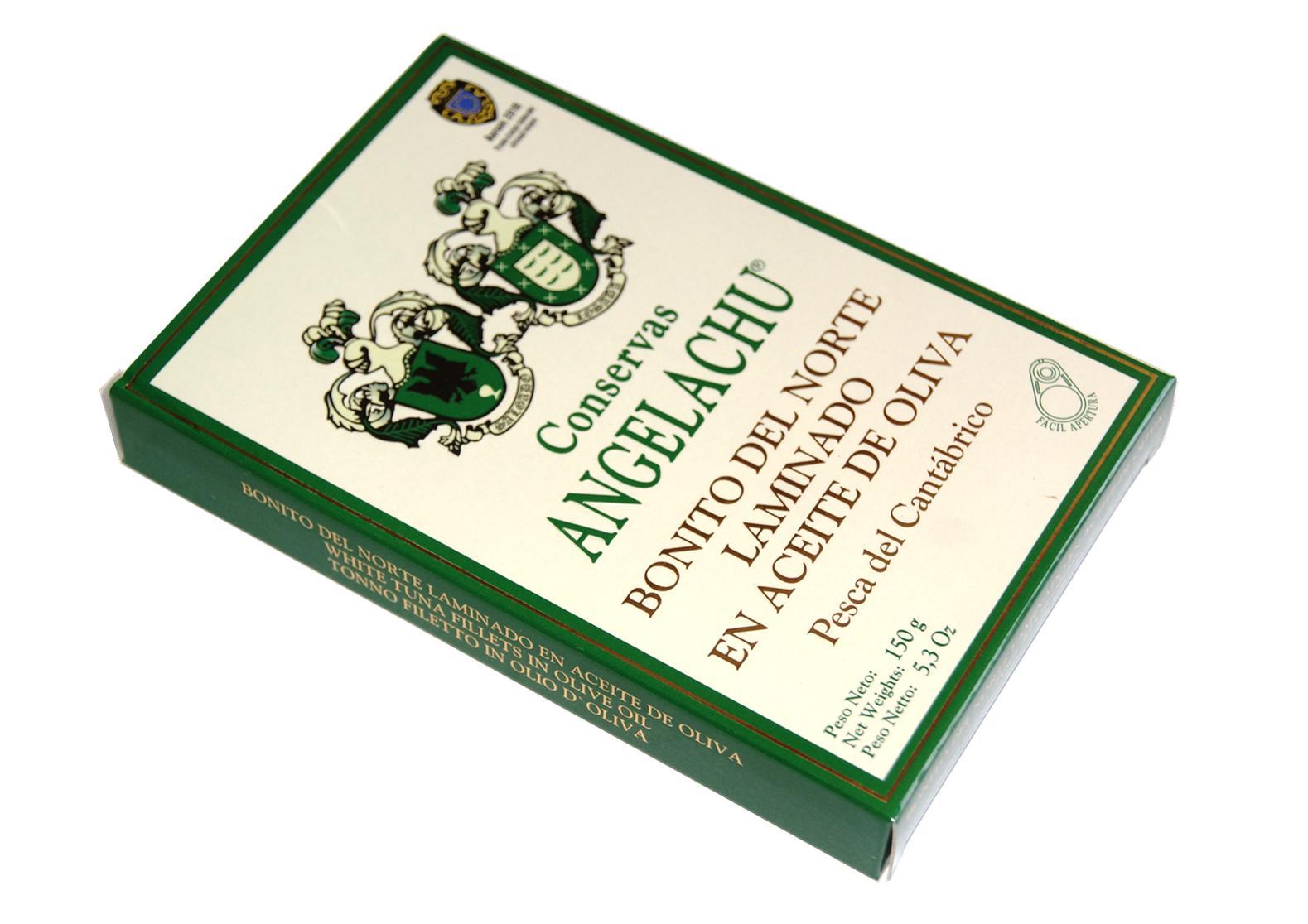 Thon bonito del norte en lamelles - Angelachu - Conserves d'anchois de Santoña - Cantabrie