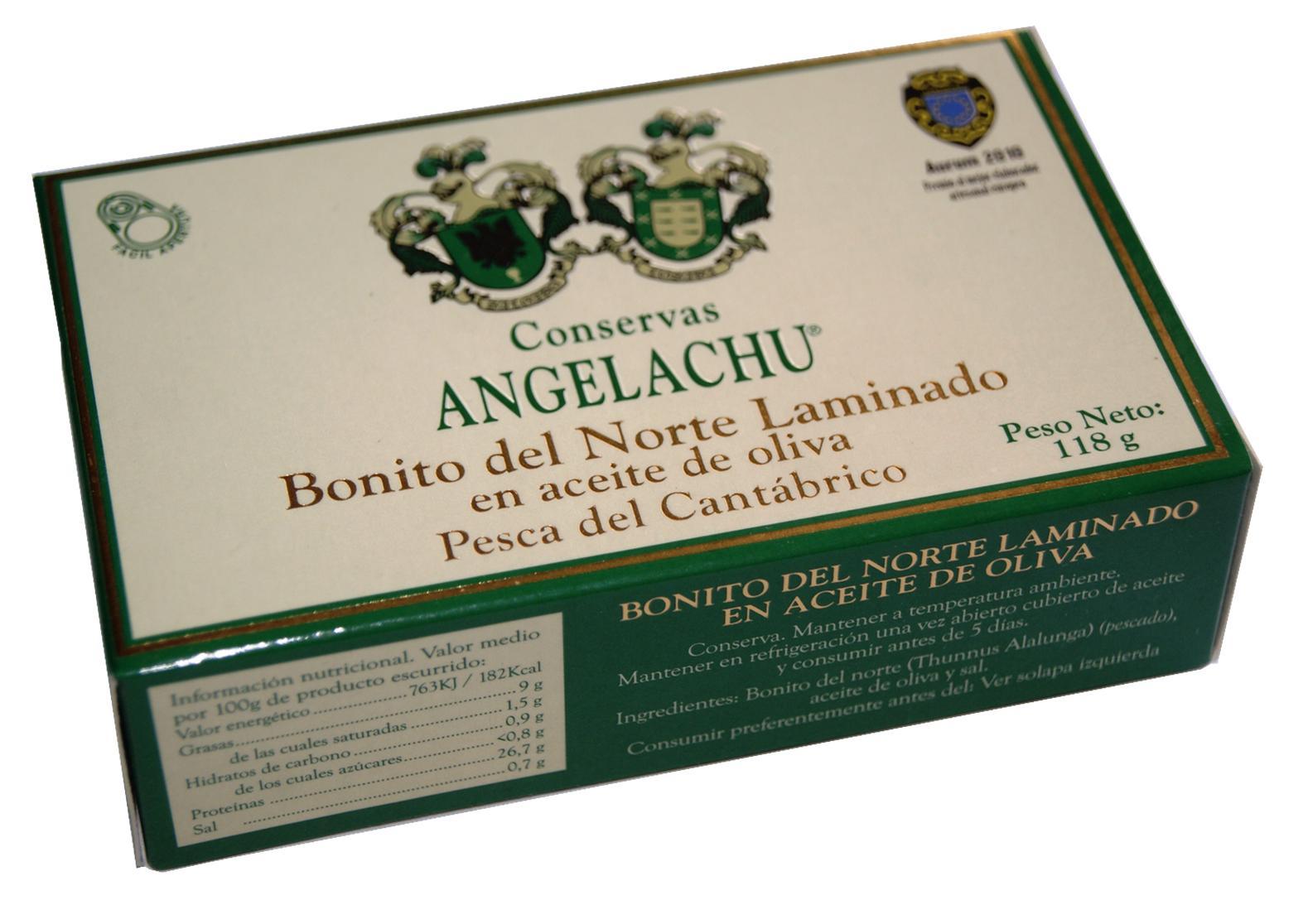 Thon bonito del norte en lamelles boite - Angelachu - Conserves d'anchois de Santoña - Cantabrie